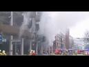 Großbrand in Hannover Explodierendes E Bike Akku setzt Parkhaus in Flammen