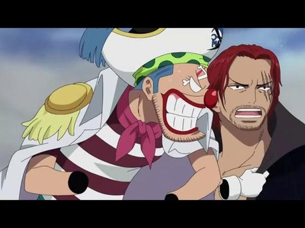 Ван пис Встреча Шанкса и Багги Два великих пирата