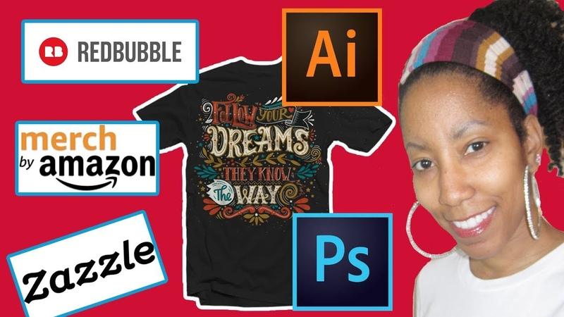 Beginners How to Start a Print on Demand T-Shirt Business