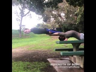 Strength of Body. Девочка супер герой