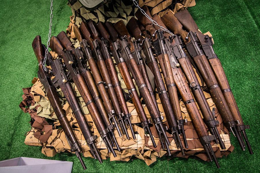 Трофеи из «песочницы»Репортаж c выставки вооружений сирийских боевиков, изображение №32
