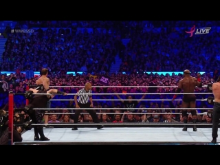 John Cena and Bobby Lashley vs. Kevin Owens and Elias Super Show Down