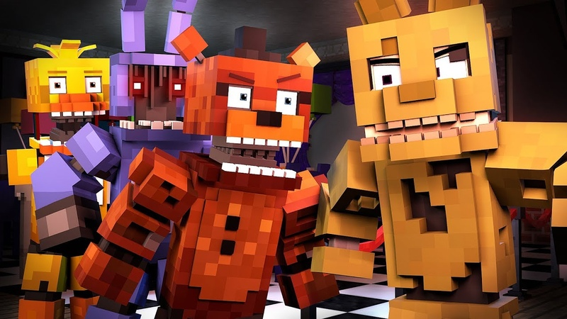 Follow Me | Minecraft FNAF Animation Music Video (Song by TryHardNinja) The Foxy Song 2
