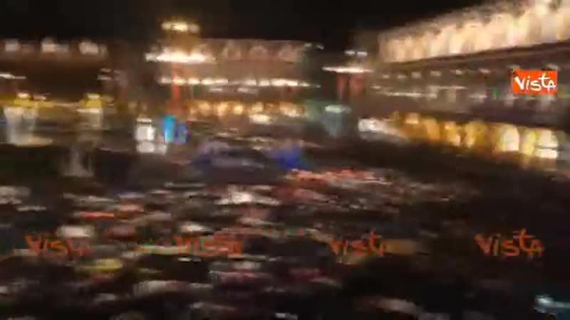 Forlì, Salvini contestato Sono un pochino di piu di 50 sfigati..