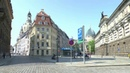 Walk around Dresden Germany Elbe-Frauenkirche-Castle-Zwinger-Prager Straße