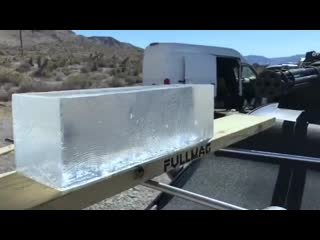 20mm vulcan vs баллистический гель
