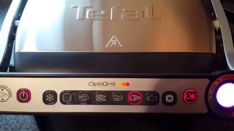 Tefal OptiGrill How To Review First Time Cooking Guide Health Grill