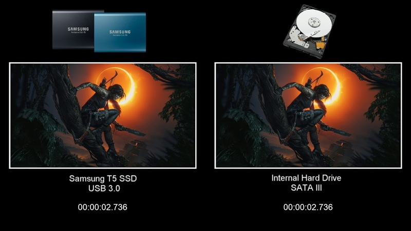 XBOX One X SSD vs Internal HDD Game Load Times