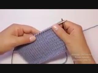 Как связать ровную линию плеча