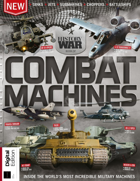 History of War - Book of Combat Machines - 2019