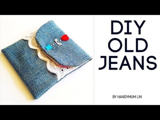 Mother's day special gift | Soufeel unboxing | How to sew a gift pouch diy tutorial | diy old jeans