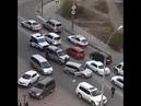 Погоня на угонщиком в центре Улан-Удэ