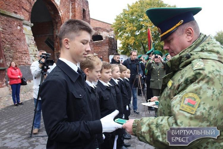 12 октября состоится посвящение в кадеты учащихся военно-патриотического класса