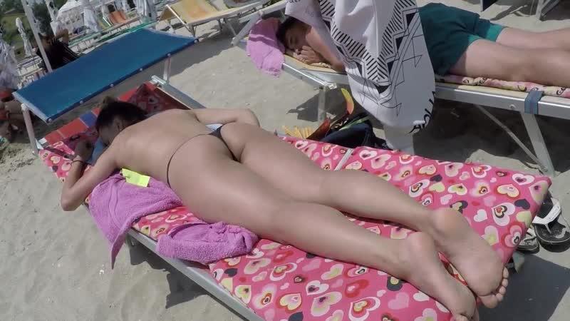 thong ass candid