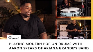 Playing Modern Pop on Drums with Aaron Spears of Ariana Grande's Band | Reverb
