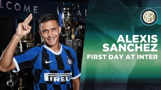 ALEXIS SANCHEZ'S FIRST DAY AT INTER! | #WelcomeAlexis