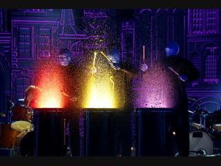 """Blue man group """"drumbone"""", екатерина филимонова, степан семенов, даниил гулевич/ """"синяя птица"""""""