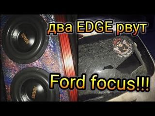 Громкий  Ford Focus I Wagon! обзор!