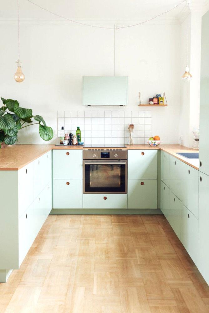 Пастельные кухни: 6 главных оттенков || Часть 2