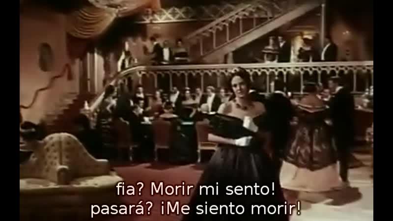 Anna Moffo Franco Bonisoli Acto 3 de La Traviata de Verdi subtítulos español e italiano 1968