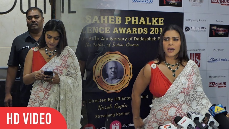 Kajol Sexiest Avatar At Dadasaheb Phalke Excellence Awards 2019 | Full Video