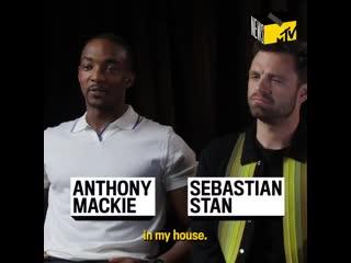 Энтони Маки и Себастиан Стэн | Интервью MTV NEWS