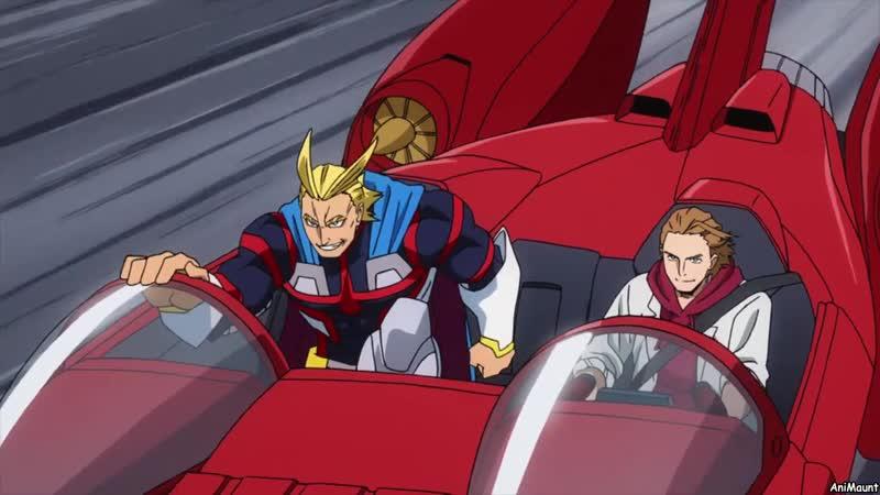Моя геройская академия: Два героя (Фильм BD) MVO AniMaunt / Boku no Hero Academia the Movie: Futari no Hero