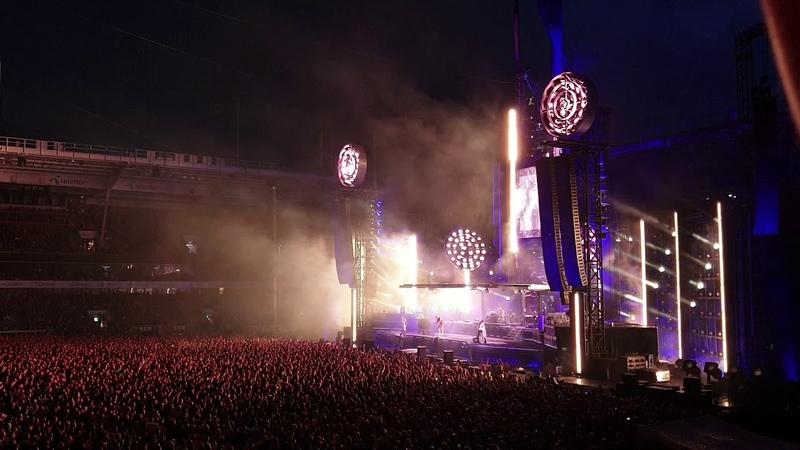 Rammstein Mein Teil Live Ullevaal Stadion Oslo Norway 18.08.2019