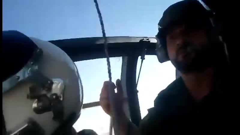 Бригадный генерал Сухейл Аль Хасан Аль Нимр инспектирует освобожденные районы провинции Хама
