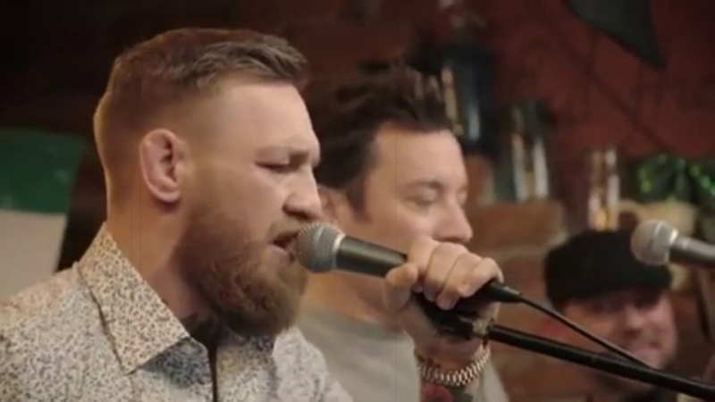 Whiskey in the Jar поёт пьяный Конор МакГрегор drunk McGregor sings METALLICA