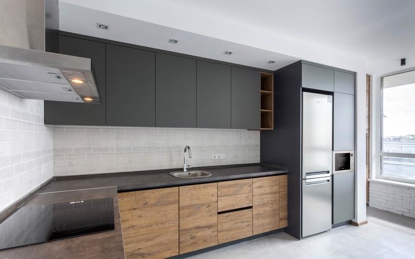 Кухня без ручек — не проходим мимо(!), читаем подробный рассказ дизайнера компании, изображение №10