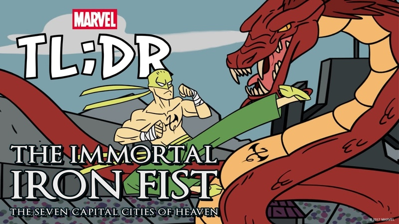 Immortal Iron Fist The Seven Capital Cities of Heaven in 3 Minutes Marvel TL DR