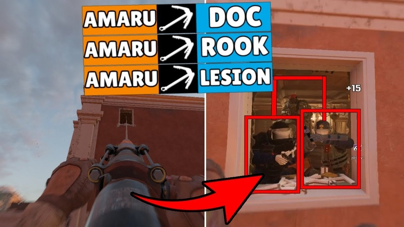 The * LUCKIEST * Amaru Grappling Hook Triple Who Wants to Be a Millionaire Rainbow Six Siege