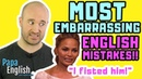 MOST EMBARRASSING English Mistakes Not for Kids