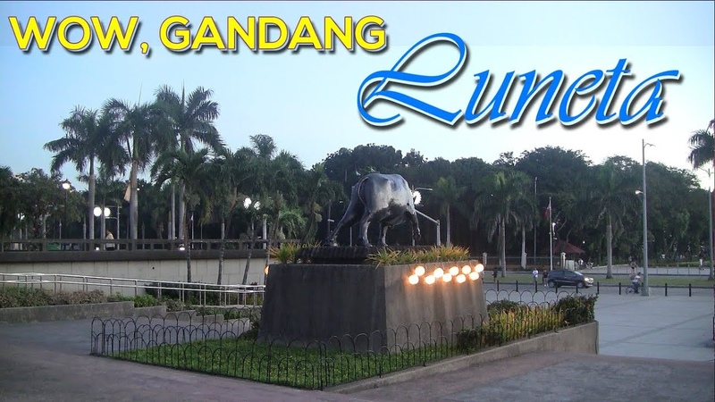 Luneta Ibang iba na sobrang linis at ganda na Nag levelup ng husto Minami Oroi