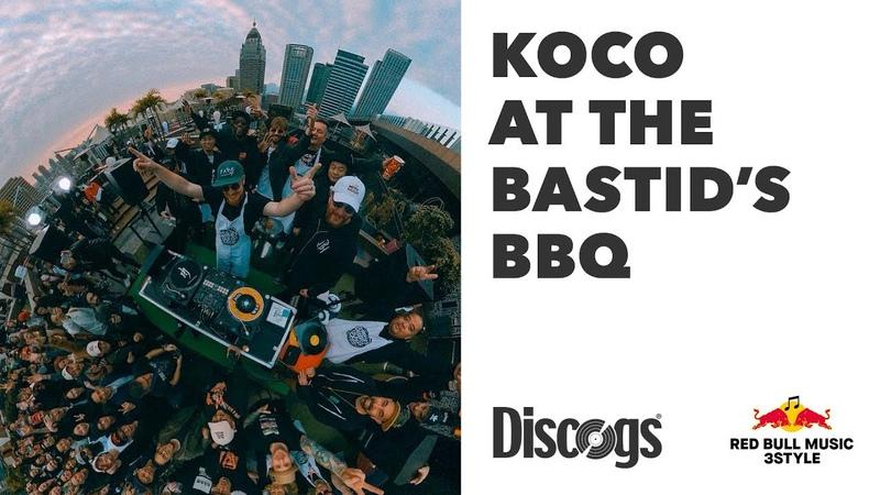 Koco Red Bull Music 3Style World Finals Bastid's BBQ Set