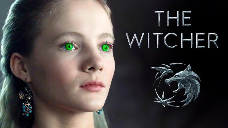Принцесса Цирилла Новый трейлер сериала Ведьмак от Netflix The Witcher Netflix