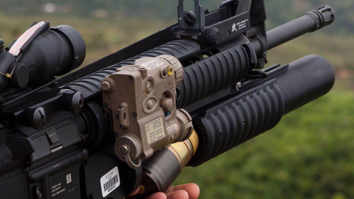 Подствольный гранатомет М-203