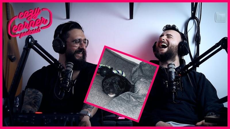 Youtuber burnout lofi saturation horror movies a new puppy Q A cozy corner podcast 5