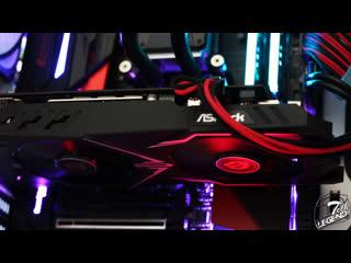 Тест шума ASRock Radeon RX 580 Phantom Gaming X OC 8GB