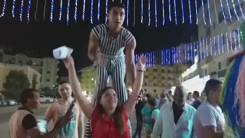 Вечером в Египте