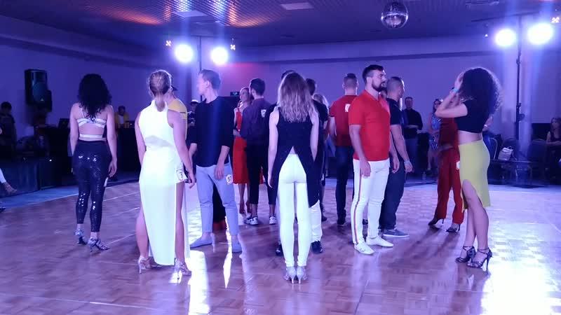 Отборочный тур J'n'J профи Russian Bachata Forum 2019