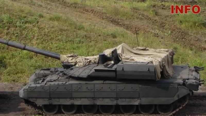Прототип танка Т-95 не дал бы Абрамсу даже шанса на ответ.mp4