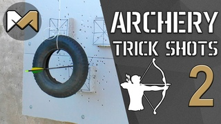 [Archery Trick Shots 2] Трюковая стрельба из лука 2