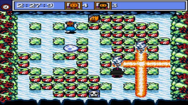 Mega Bomberman Группа B Eg or3 VS San Marino