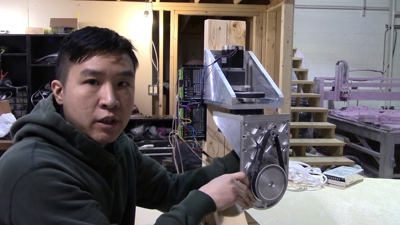 DIY 5 Axis CNC - Well built young grasshopper
