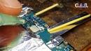 Samsung A7 A710 - Замена USB и ремонт SIM разъема, не заряжается, не видит сим карту