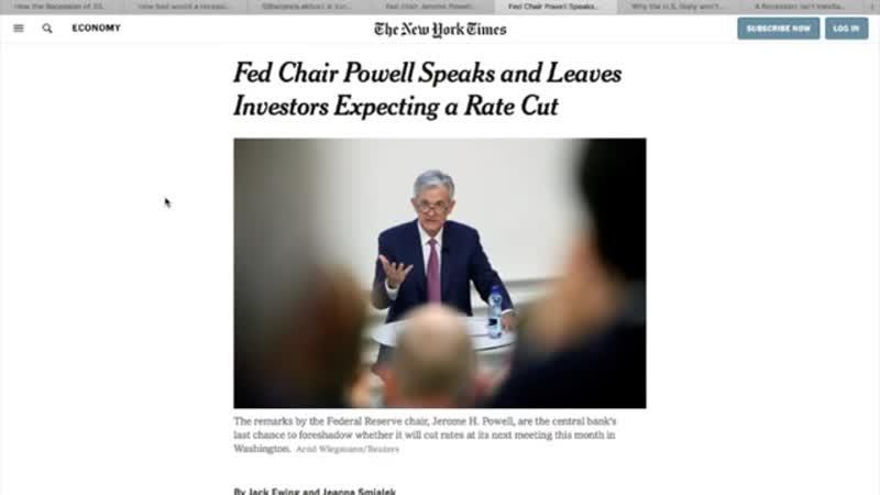 Die Medien rudern zurück Nun doch keine Rezession 2020 360p