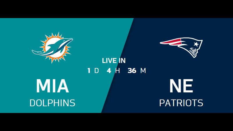 NFL 2019-2020 / Week 17 / Miami Dolphins - New England Patriots / EN