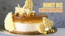 No-Bake Honey Bee Cheesecake 노오븐 벌꿀 치즈 케이크 만들기